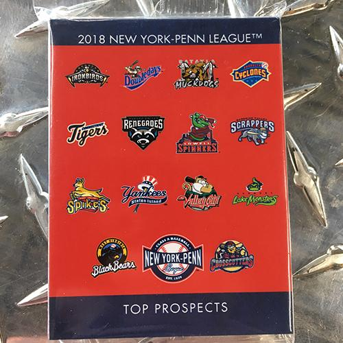 West Virginia Black Bears 2018 NY-Penn League Cards