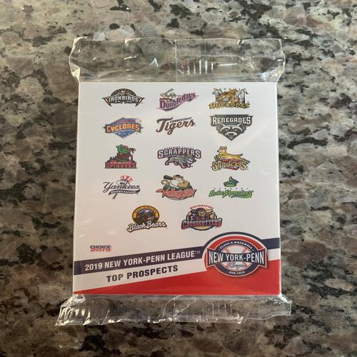 West Virginia Black Bears 2019 NY Penn League Cards