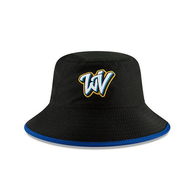 West Virginia Black Bears Adult Hex Bucket Hat