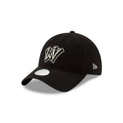 West Virginia Black Bears Ladies Black/Silver Adj.