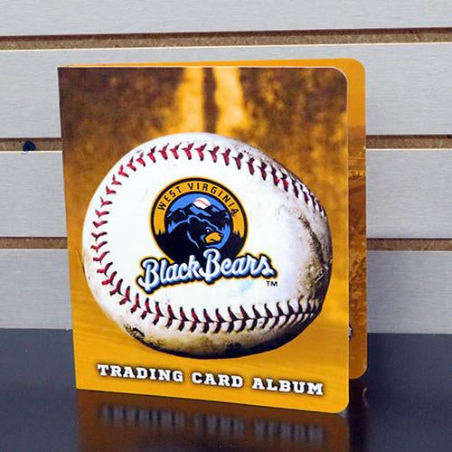 West Virginia Black Bears Trading Card Album