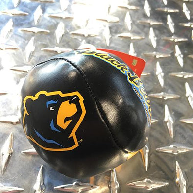 West Virginia Black Bears Bear Head Soft Baseball