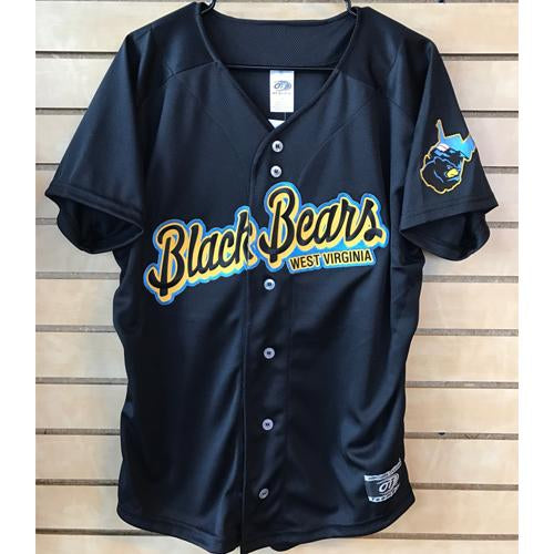 West Virginia Black Bears Replica Alternate Jersey