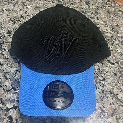 West Virginia Black Bears Men's Black and Blue Flex