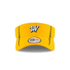 West Virginia Black Bears Gold Adjustable Visor