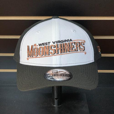 West Virginia Black Bears Moonshiners Black/White Logo