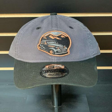 West Virginia Black Bears Moonshiners Black/Grey Adjustable