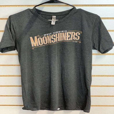 West Virginia Black Bears Moonshiners Heather Tee