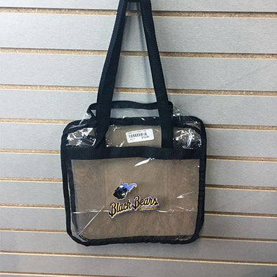 West Virginia Black Bears WV Black Bears Clear Bag