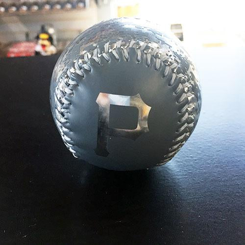 Pittsburgh Pirates Grey and Silver Baseball