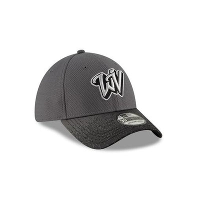 West Virginia Black Bears Grey Blur Flex Hat
