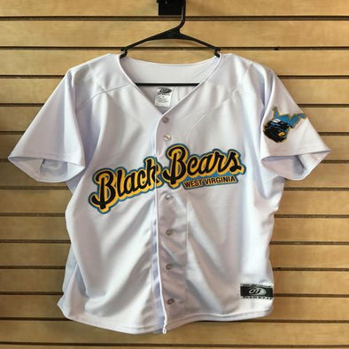 West Virginia Black Bears Replica Home Jersey
