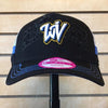 West Virginia Black Bears Women's Double Logo Hat