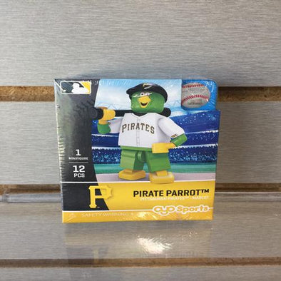 West Virginia Black Bears Pirate Parrot 12pc. Legos