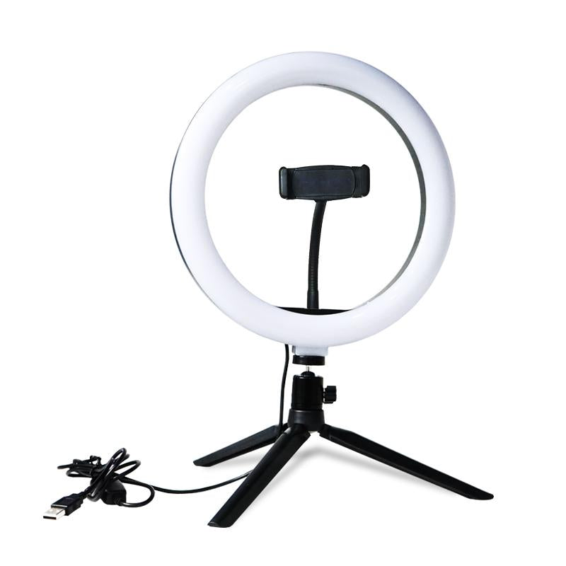 Video Conference Ring Light & Stand 2 - Remote Office Supplies
