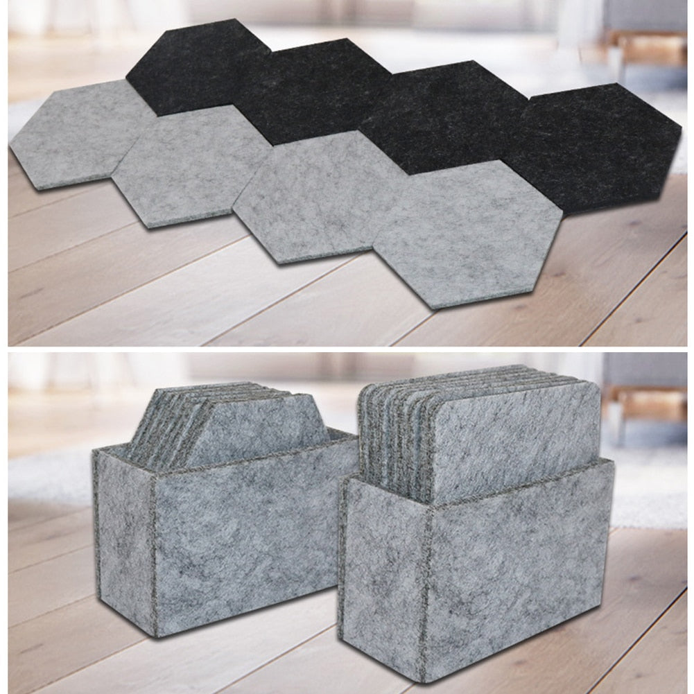 Surface Felt Coasters - Remote Office Supplies