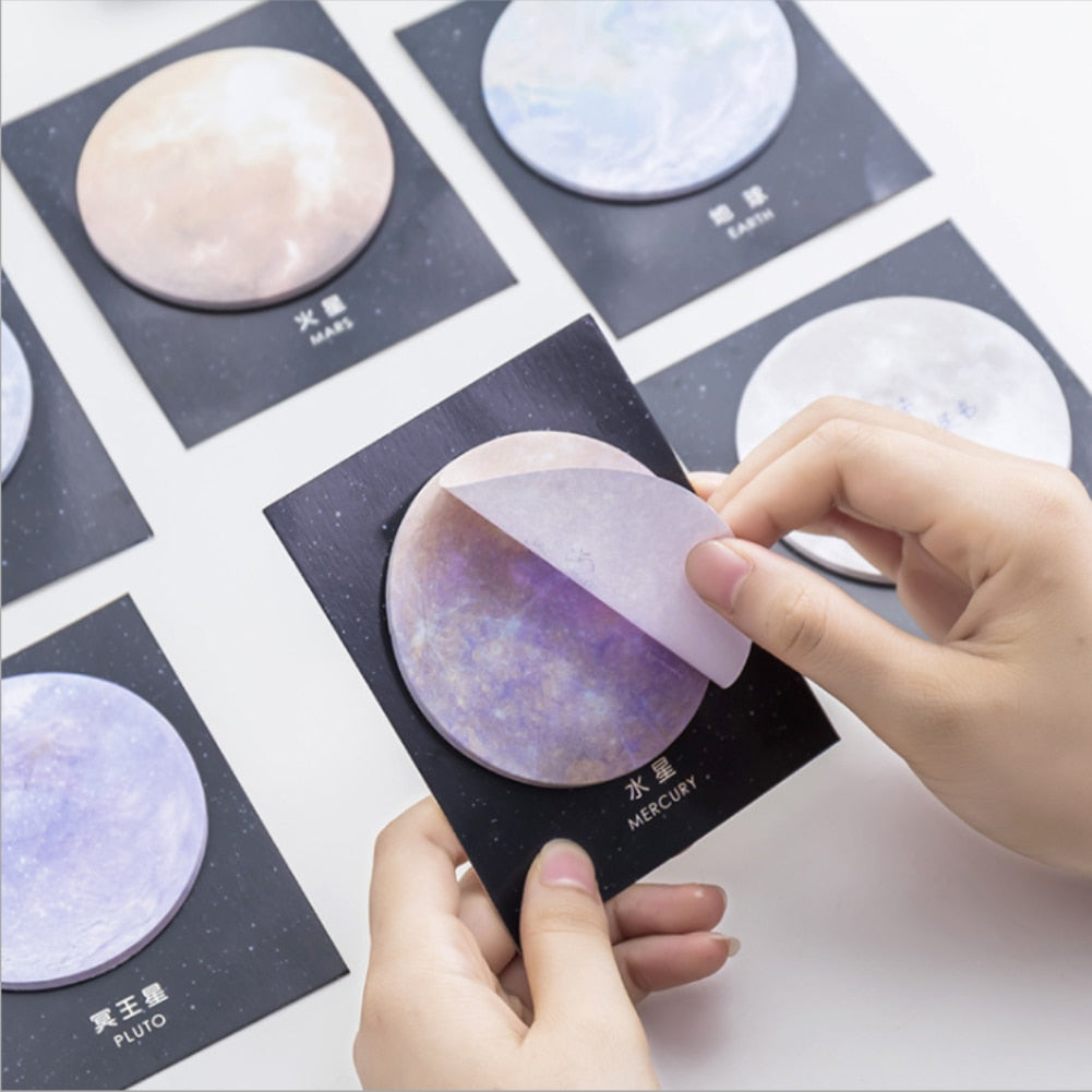 Solar System Sticky Notes - RemoteOffice