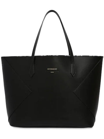 Givenchy Black Wing Shopper Tote