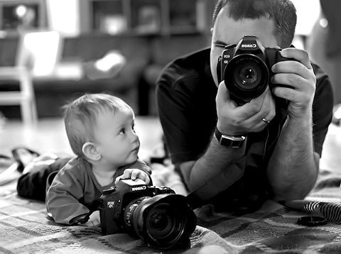 Photographer dad