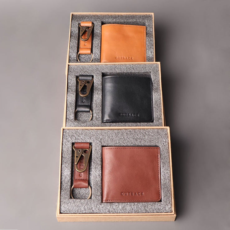 Wallet & Key Holder Gift Set