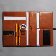 Leather Daily Organizer
