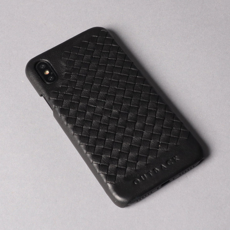 Weaved Leather case for iPhone X