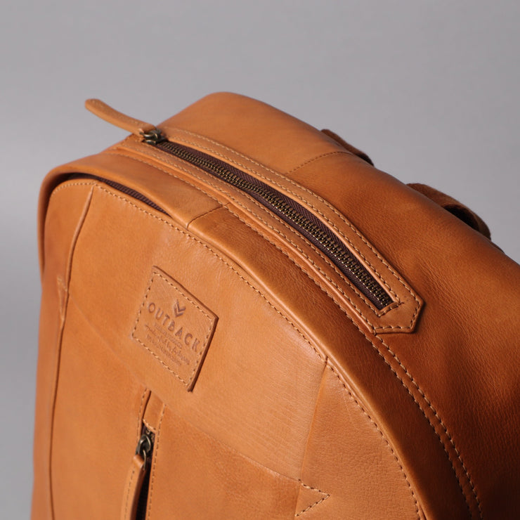 Barney Leather Backpack