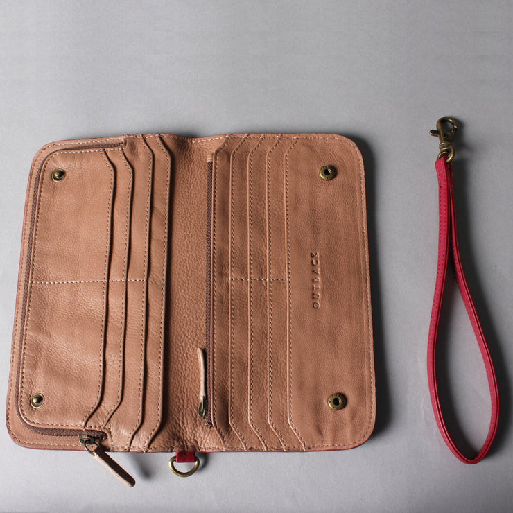 Skinny Leather Wallet for women