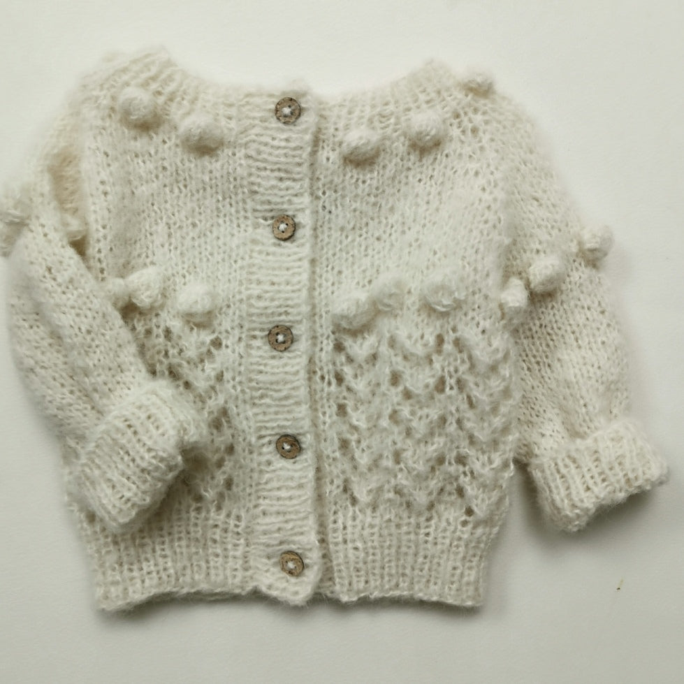 knitting pattern cardigan Billie