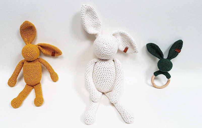 CROCHET PATTERN DESIGN RABBIT