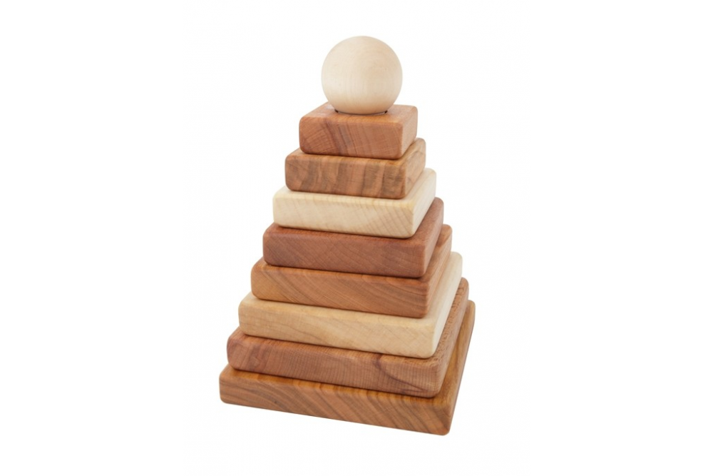 Natural pyramid Wooden Story