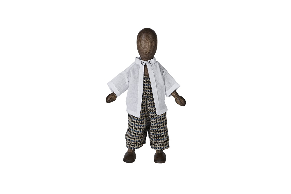 Doll with shirt and pants - Wooden Story