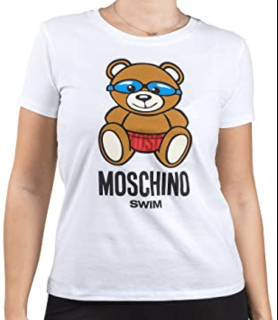 LOVE MOSCHINO A1912 2613 T-SHIRT WOMAN