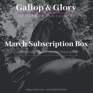 March 2021 Box Only - Equestrian Subscription Box