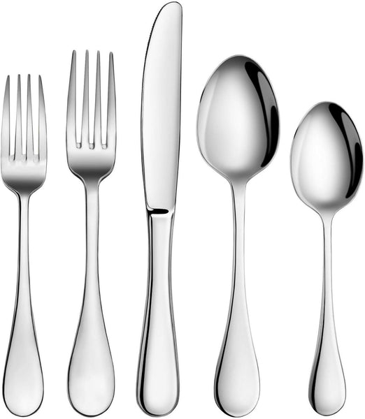 12 Piece 18/8 Stainless Steel Dinner Spoons Set 7 Inch, SUS304-1010DF183