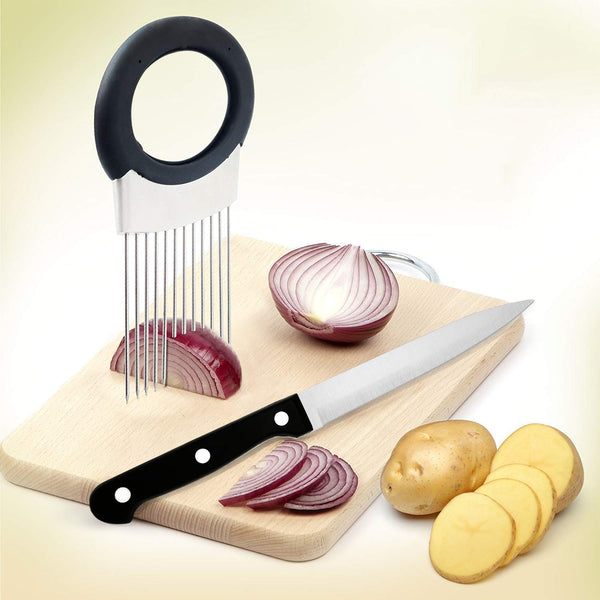 Onion Vegetable Fruit Sliced Fixed Needle & Stainless Steel Soap