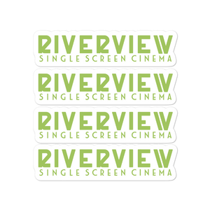 Single Screen Cinema Bubble-free stickers