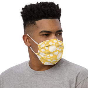 Yellow Pop! Face mask