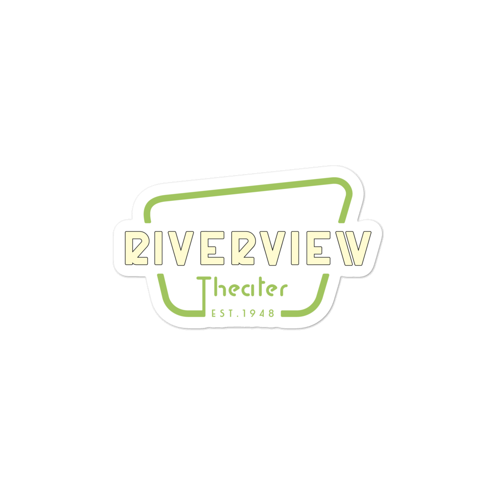 Riverview Logo Bubble-free stickers