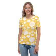 Load image into Gallery viewer, Women's LOGO Pop! All Over Print T-shirt
