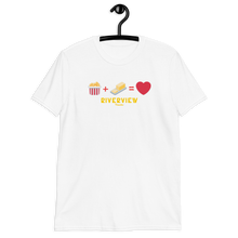 Load image into Gallery viewer, Popcorn+Butter Emoji T-Shirt