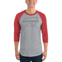 Load image into Gallery viewer, Riverview Logo Baseball shirt - Unisex fit