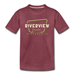 Toddler Premium T-Shirt - heather burgundy