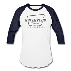 Baseball T-Shirt - white/navy