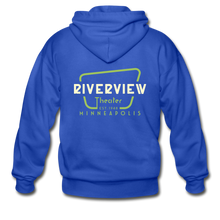 Load image into Gallery viewer, Men's Zip Hoodie - royal blue