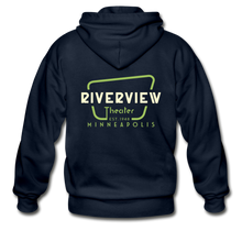 Load image into Gallery viewer, Men's Zip Hoodie - navy