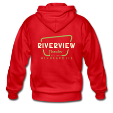 Load image into Gallery viewer, Men's Zip Hoodie - red
