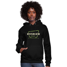 Load image into Gallery viewer, Women's Hoodie - black
