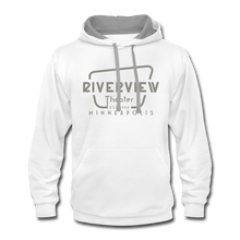 Load image into Gallery viewer, Contrast Hoodie - white/gray