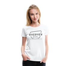 Load image into Gallery viewer, Women's Grey Logo T-Shirt - white